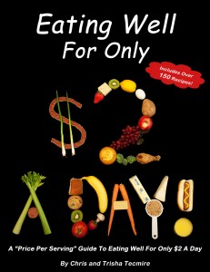 Eating Well For Only $2 A Day Cover