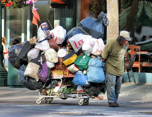 Homeless Hoarder