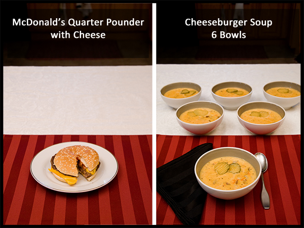 Cheeseburger Comparison